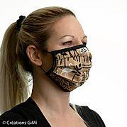 masque tissu reutilisable